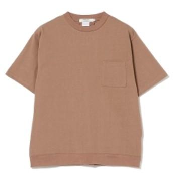 BEAMS LIGHTS BEAMS LIGHTS / バックリブ ポケットTシャツ メンズ Tシャツ TAN S