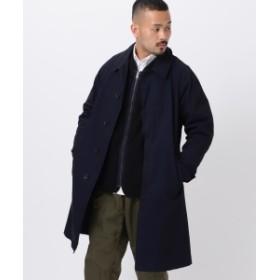 BEAMS PLUS sage de cret / ツイル ステンカラー コート メンズ ステンカラーコート 20.Navy L