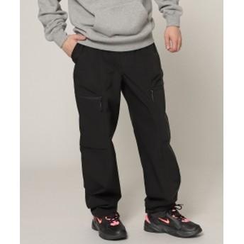 BEAMS BEAMS / ポリエステル ベイカー パンツ メンズ カジュアルパンツ BLACK L
