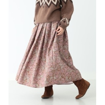 CAROLINA GLASER CAROLINA GLASER / オリジナルプリント スカート レディース マキシ・ロング丈スカート ブラウン ONE SIZE