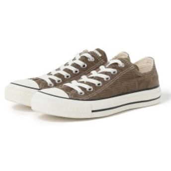 B:MING by BEAMS CONVERSE / CANVAS ALL STAR CORD OX レディース スニーカー BROWN 5H