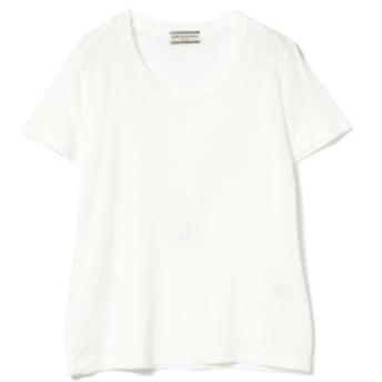 Ray BEAMS Ray BEAMS High Basic / スクープネック Tシャツ レディース Tシャツ WHITE ONE SIZE