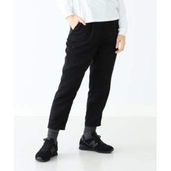 BEAMS BOY NEW BALANCE × BEAMS BOY / 別注 996 ワイド テーパード パンツ レディース カジュアルパンツ BLACK M