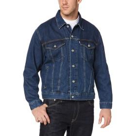 [エドウィン] ジャケット 大人カジュアルの定番アイテムとして押さえておきたいデニム【大きいサイズ】 メンズ 中色ブルー 日本 3L (日本サイズ3L相当)
