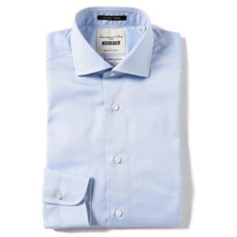 International Gallery BEAMS I.G.BEAMS / エクストラタイト ロイヤルオックスフォード カッタウェイカラーシャツ メンズ ドレスシャツ LT. BLUE 37