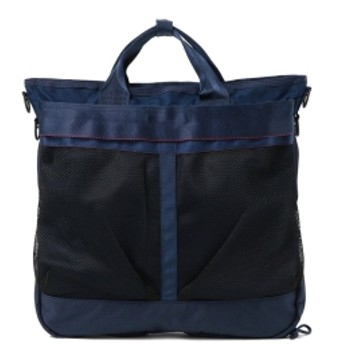 BEAMS PLUS BRIEFING × BEAMS PLUS / 別注 HELMET BAG メンズ リュック・バックパック NAVY ONE SIZE