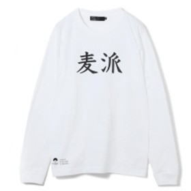 TOKYO CULTUART by BEAMS 焼酎のススメ。/ いいちこ「麦派」ロングスリーブ Tシャツ メンズ Tシャツ WHITE M