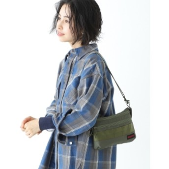 BEAMS BOY <UNISEX> BRIEFING × BEAMS BOY / 別注 SACOCHE レディース ショルダーバッグ OLIVE ONE SIZE