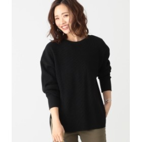 B:MING by BEAMS B:MING by BEAMS / バックヘンリー サーマルプルオーバー 19AW レディース カットソー BLACK ONE SIZE