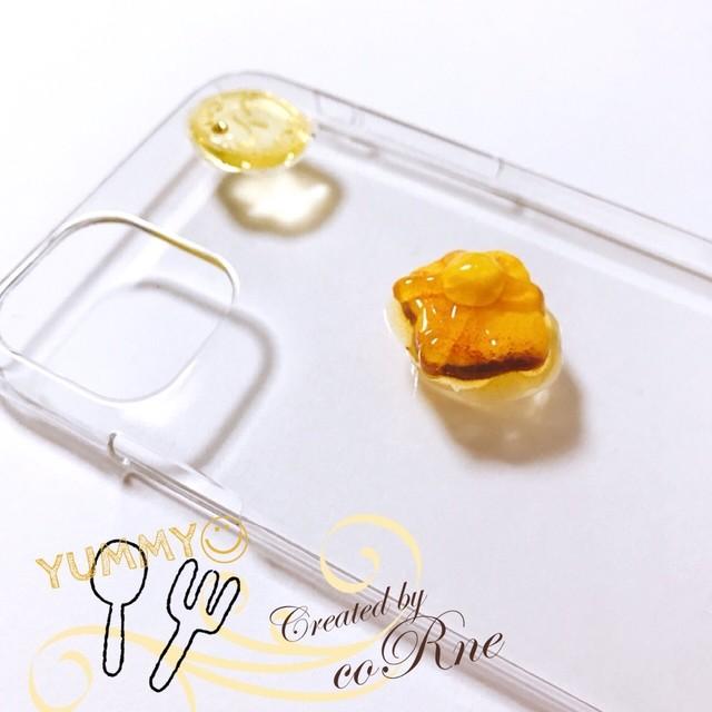 再販×18*こんがり ハチミツバタートースト iPhoneケース*iPhone8