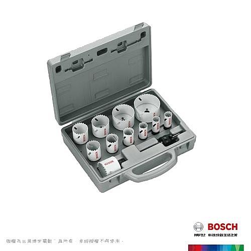 BOSCH 雙金屬圓穴鋸套裝14件組