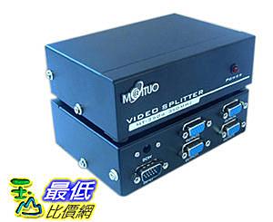 [大陸直寄] VGA Video Splitter 1對4 螢幕 超高頻350MHz 分接/分配/分頻器