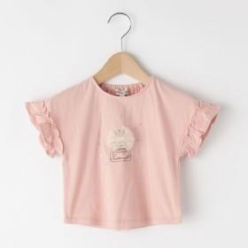 [マルイ]【セール】【80-130cm】袖フリル香水チュールTシャツ/シューラルー(キッズ)(SHOOLARUE Kids)