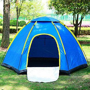 六角多人家庭帳篷