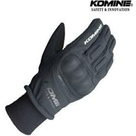 KOMINE GK-816 WPプロテクトウインターグローブ KITORA 『キトラ』透湿防水 防風 防寒 保温 スマホ対応 ブラック