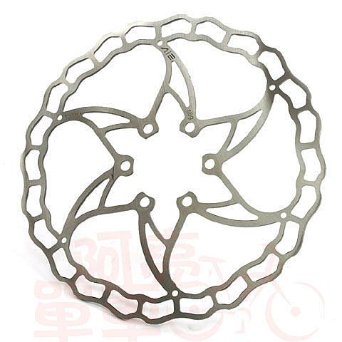 *阿亮單車*ASHIMA 超輕量自行車碟盤,六孔固定式,直徑:160mm,銀色《B90-058》