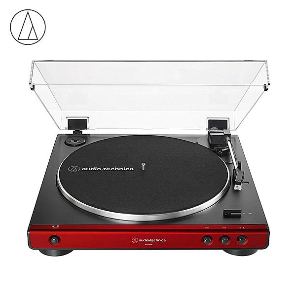 Audio Technica 鐵三角 AT-LP60X 入門款黑膠唱機 紅色