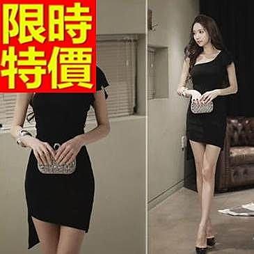 晚宴服-性感典型性感單肩修身短款女晚禮服1色65c49【巴黎精品】