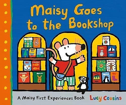 Maisy Goes To The Bookshop 波波逛書店 精裝繪本