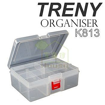 [ 家事達 ] HD--K813-8138  TRENY小型雙層收納工具盒  特價