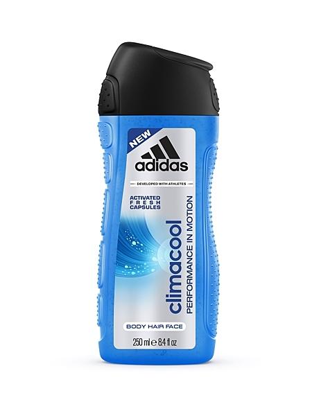 愛迪達男用三效動能香氛潔顏洗髮沐浴露250ml