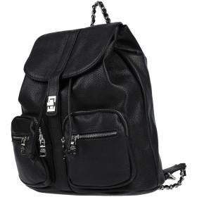 《セール開催中》STEVE MADDEN レディース バックパック&ヒップバッグ ブラック ポリウレタン 100%