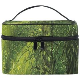 水原君の市場 植物 化粧ポーチ コンパクト メイクポーチ 化粧品 化粧道具 収納 バッグ