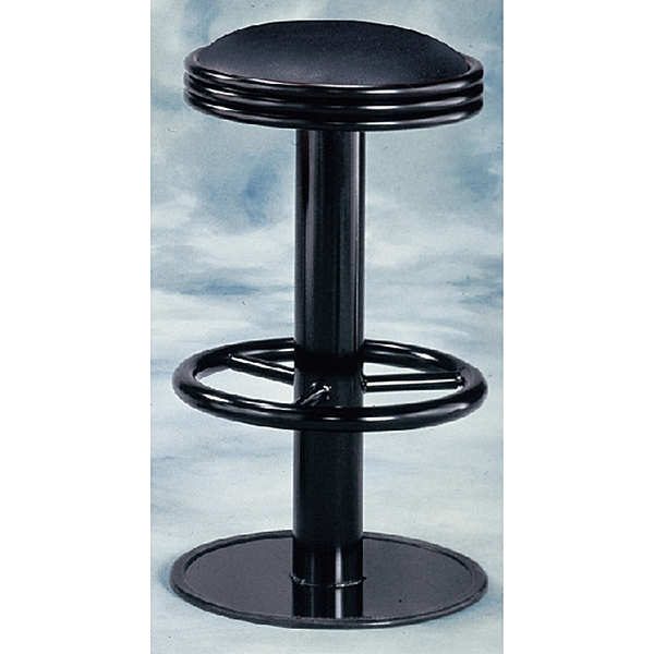ONE HOUSE-維豋高吧台椅(黑)固定