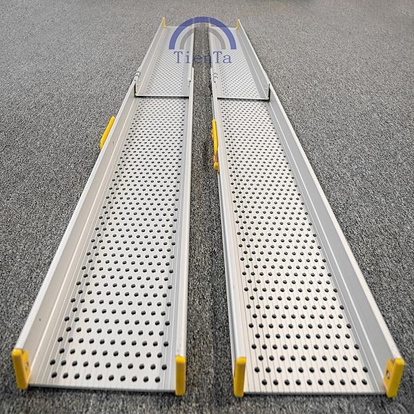 斜坡板/鋁輪椅梯--輪椅爬梯專用斜坡板210CM