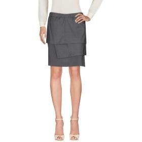 《セール開催中》BRUNELLO CUCINELLI レディース ひざ丈スカート グレー 42 バージンウール 90% / シルク 10%