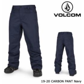 ボルコム ウェア パンツ 19-20 VOLCOM CARBON PANT Navy G1351915 日本正規品