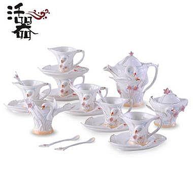 活器 天鵝之吻 新款特價 骨瓷咖啡杯套裝