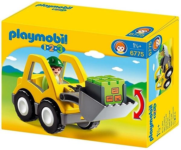摩比人6775 Playmobil 123-小推土機