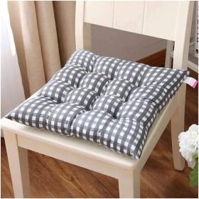 隆起パッド、頑丈で、長さ50cm、スクエアパッドダイニングガーデンキッチンオフィスチェアクッション付き椅子のクッションアームチェア (Color : E, Size : 4040CM)