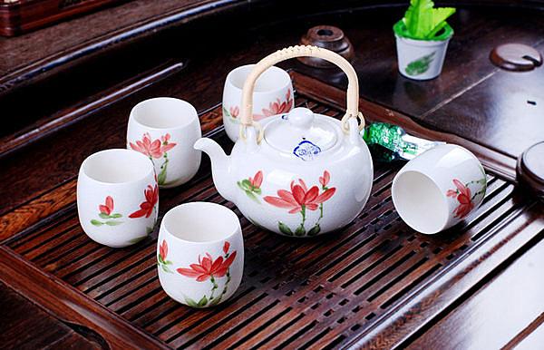 陶瓷茶具 裂紋荷韻