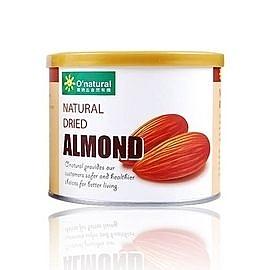 O'natural 歐納丘 美國加州杏仁果原味190g  一罐