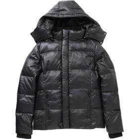 JIGGYS SHOP ダウンジャケット メンズ アウター ジャケット 防寒 軽量 厚手 3タイプ XL Bシャイニーブラック