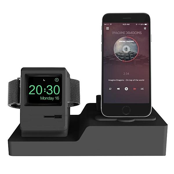 MOOR iClassic iPhone, Airpods, Apple watch 3合1立式充電座(i300)