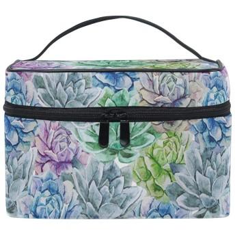 水原君の市場 ロータス 大容量化粧ポーチ コスメバッグ ファスナー シンプル 旅行 機能的 小物入れ 化粧道具