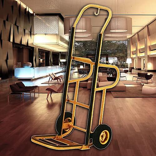 【企隆 圍欄 飯店用品】手推行李車/H301T 行李車/飯店/旅館/民宿/行李架