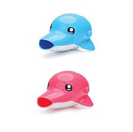 【佳兒園婦幼館】愛迪生EDISON 可愛動物水龍頭輔助延長器(海豚)