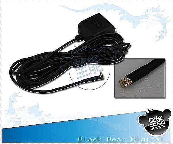 黑熊館 PDA GPS 外接天線 衛星導航天線 MMCX接頭 外接天線 90度接頭 增強訊號