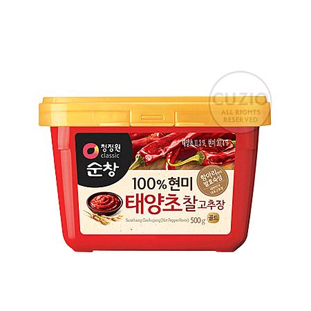 韓國原裝進口 正宗韓國辣椒醬n濃郁香辣 不論拌飯、醬湯都難不倒!!