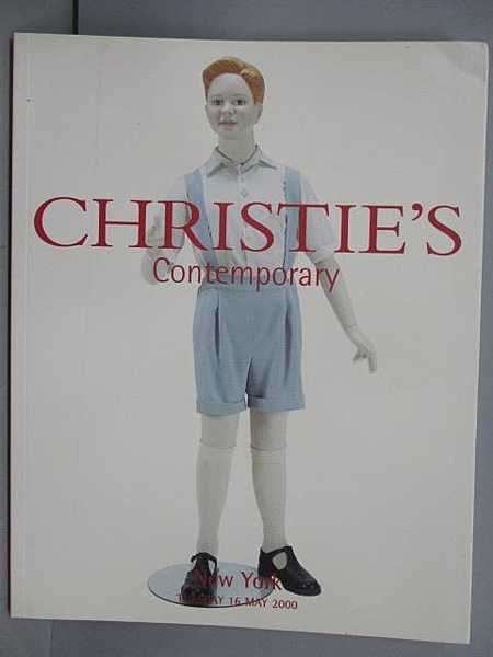 【書寶二手書T5/收藏_EN8】Christie s_Contemporary Art(Evening Sale)_20