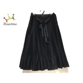 ダーマコレクション DAMAcollection 巻きスカート サイズ1 S レディース 黒 プリーツ 新着 20191107