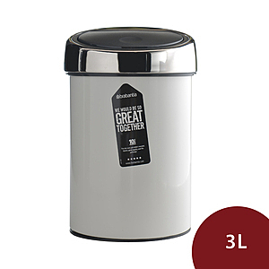 Brabantia Touch Bin 按壓式垃圾桶 3L 白色