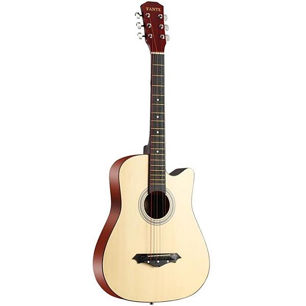 吉他 吉他初學者學生女男入門練習樂器38寸-41寸民謠通用吉他琴弦配件 莎瓦迪卡