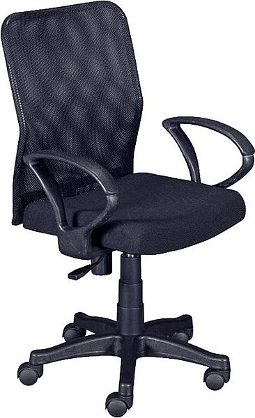 HY-Y174-9 辦公椅(黑網/扶手)