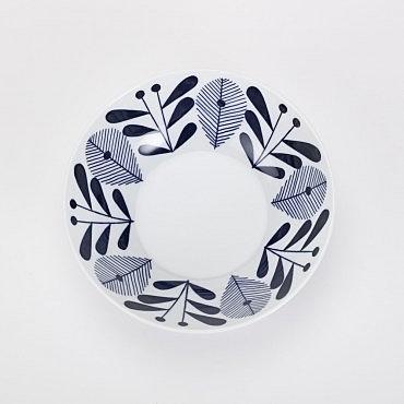 日本藍楓林輕量缽 17cm