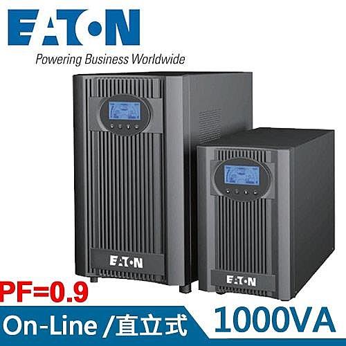 EATON飛瑞 1KVA 在線式 UPS不斷電系統 9E-1000